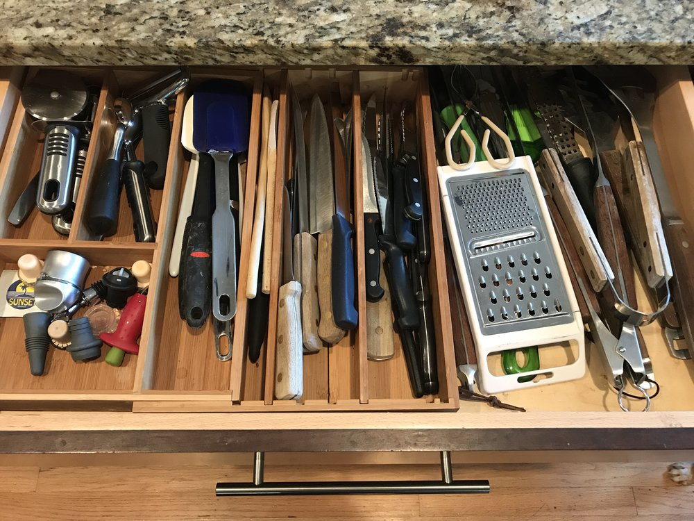 Kitchen drawer BEFORE