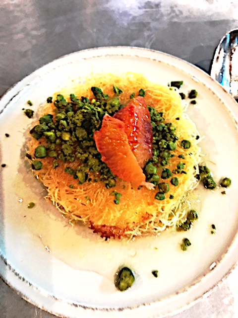 Knafeh, a heavenly dessert