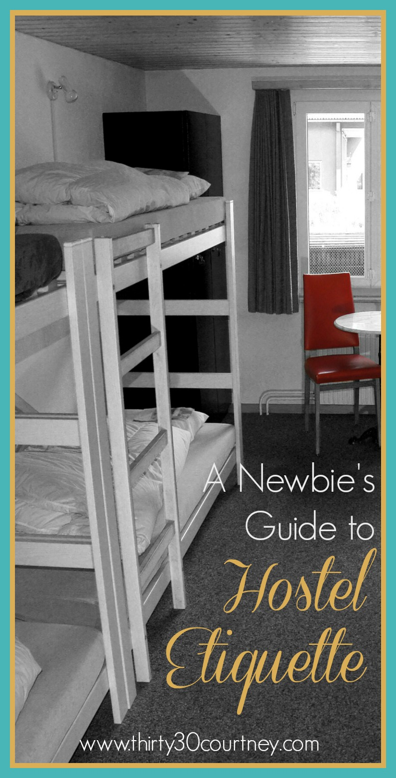 A Newbie's Guide to Hostel Etiquette