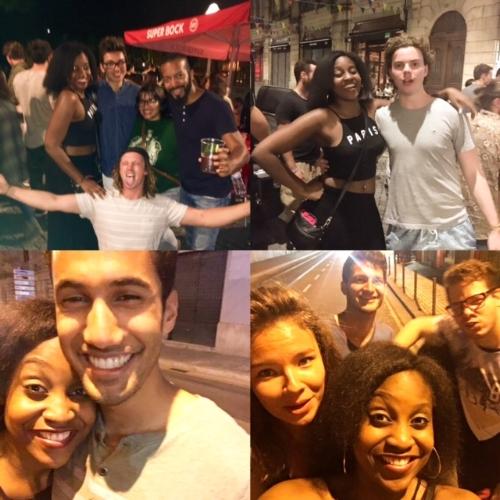 Pub crawls = humidity. #FixItJesus Anywho, with my hostel mates!