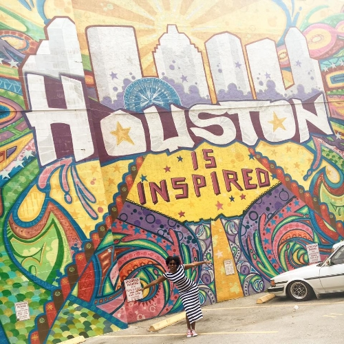 One of the best things about August was me getting to visit my lovely [former] home of Houston after four long months away. i vow to never be away for that long again. Sidebar, can we talk about this mural?!
