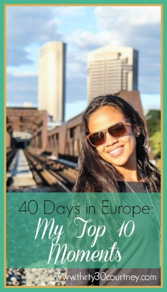 After spending 40 days in Europe, it was a task to define my top 10 moments, but I did it! If you enjoyed this post or simply love to hear travel stories, be sure to pin it.