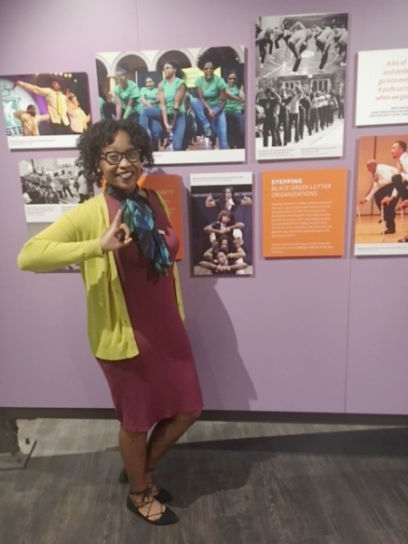 I stumbled upon a photo of my Sorors at the NMAAHC and also a picture of the Nupes at my alma mater, the University of Miami! Go Canes and Skee-Wee!