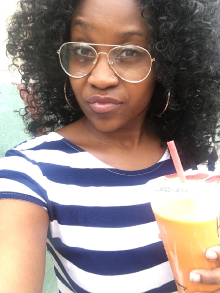 Imagine the facial expression I made to have a BLACK woman talking about the attitudes from BLACK women while on the job. Chile... let me continue to sip my Thai tea.