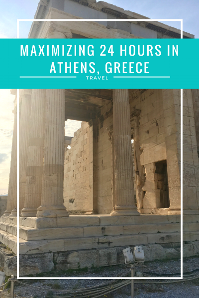 How would you maximize your time in Athens, Greece if you only had 24 hours? Read about how I spent my time on the blog now at www.thirty30courtney.com
