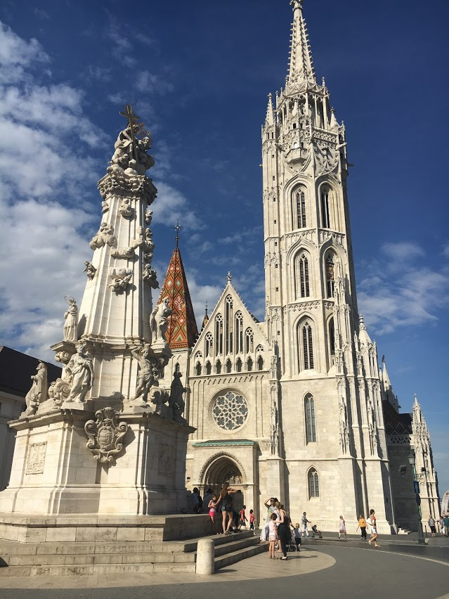 Gorgeous church views during the free walking tours