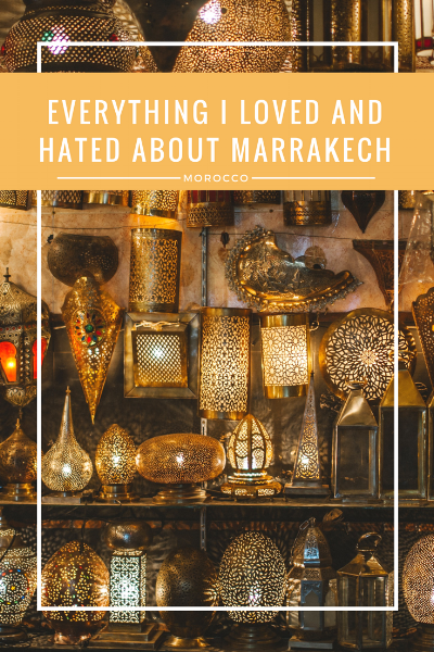 Have you ever had a love-hate relationship with a city? For me, I felt that way about Marrakech, Morocco. While gorgeous, I had some of my roughest moments while traveling to date. Read more about it on www.thirty30courtney.com