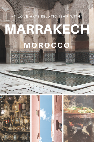 Have you ever had a love-hate relationship with a city? For me, I felt that way about Marrakech, Morocco. While gorgeous, I had some of my roughest moments while traveling to date. Read more about everything I loved and hated about Marrakech on www.thirty30courtney.com