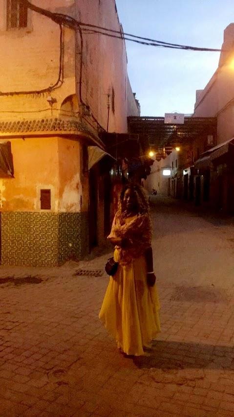 The Medina at dusk