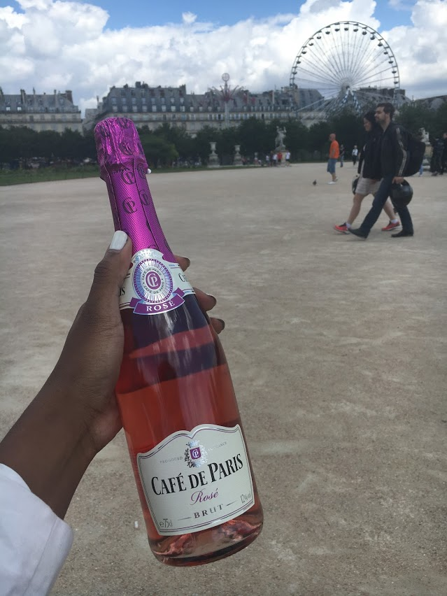 This was when I first arrived in Paris during June 2016. I wanted to get acclimated to the culture.