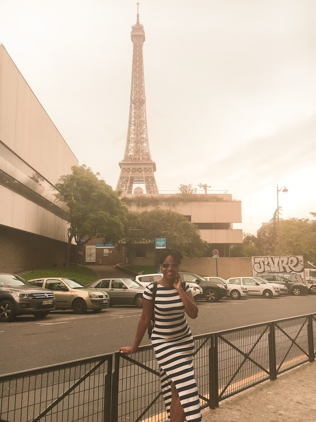 Saying goodbye to Paris during my first visit in June 2016.