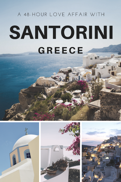 How would you take advantage of 48 hours on the gorgeous island of Santorini, Greece? Read about how I spent my time on the Greek Island and learn my top recommendations for you to have a great time during your 2 day trip on thirty30courtney.com