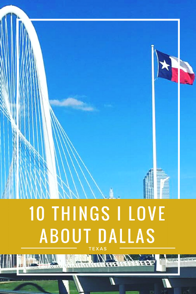 When you think of Dallas what do you think of? The Cowboys? Brunch? Great barbeque? Whatever it is, there is something for EVERYONE in Dallas and today I am sharing 10 things I love about Dallas, Texas on the Thirty30Courtney blog.