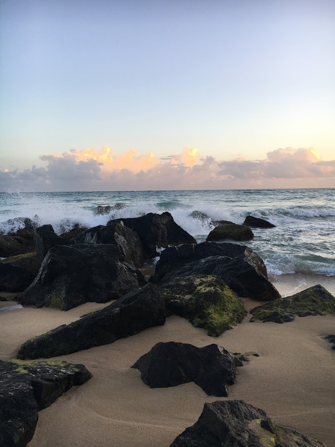 I had 3 deaths in 3 months that required me to go to Jersey. My anxiety was FLARING. I was grateful to have brought in the New Year in Puerto RIco.