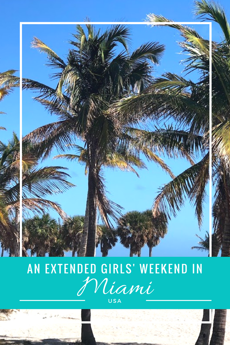Who wouldn't want to escape the winter blues and run away to Miami? Read about where I ate, stayed, and played during my extended girls' weekend in Miami on the blog now!