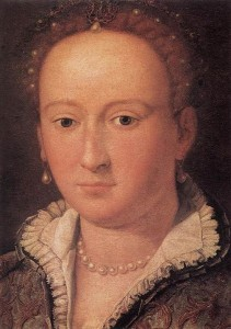 Bianca Capello Portrait by Allesandro Allori from the Uffizi Galleries