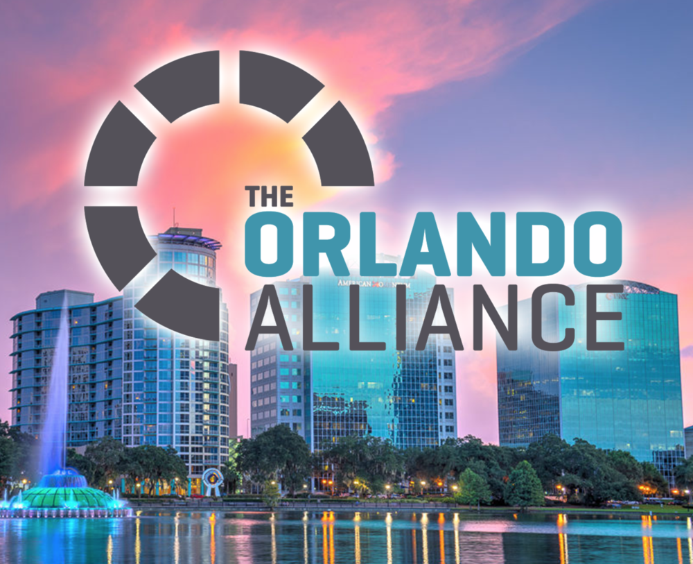 THE ORLANDO ALLIANCE Orlando is known for many things, and one of them is connecting people. One Alliance Group has helped establish a networking community that focuses on building stronger relationships and valuable referrals while staying modern and relevant.