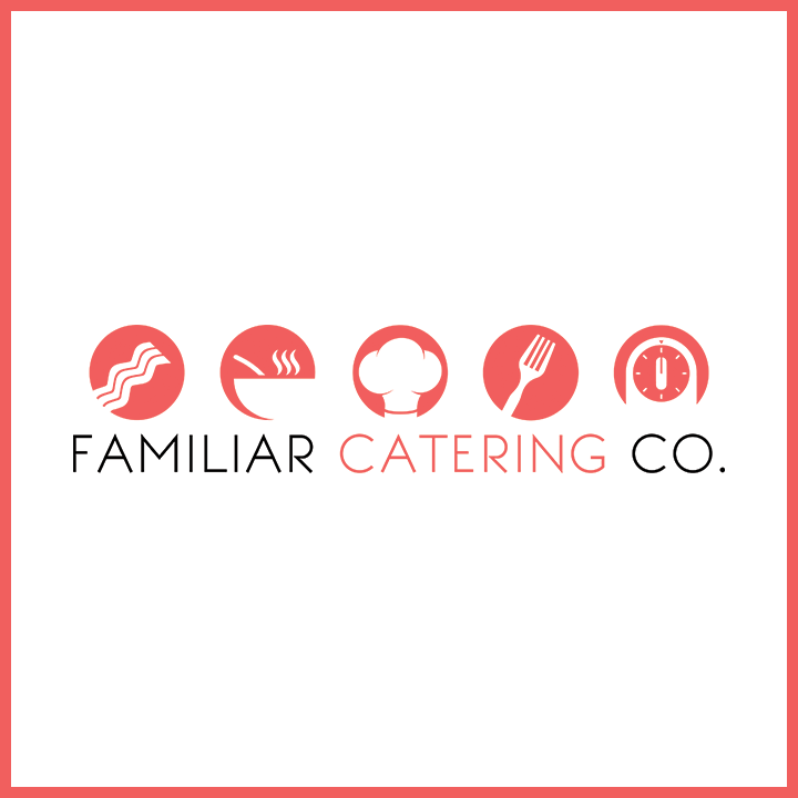FAMILIAR CATERING CO. Apart from cooking delicious meals, Familiar Catering Co. wanted their branding to match their relevancy within the catering industry. We did just that.