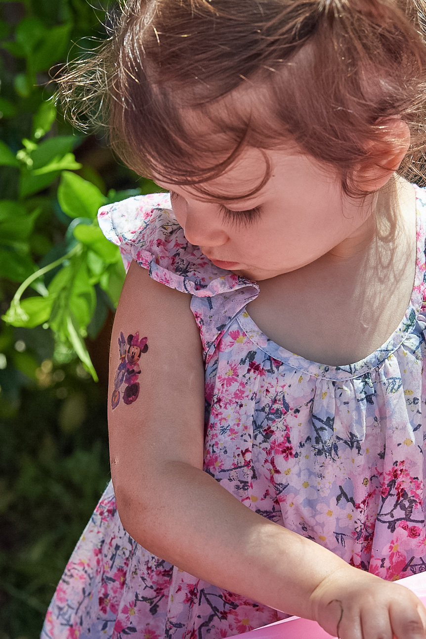toddler easter tattoo minnie mouse