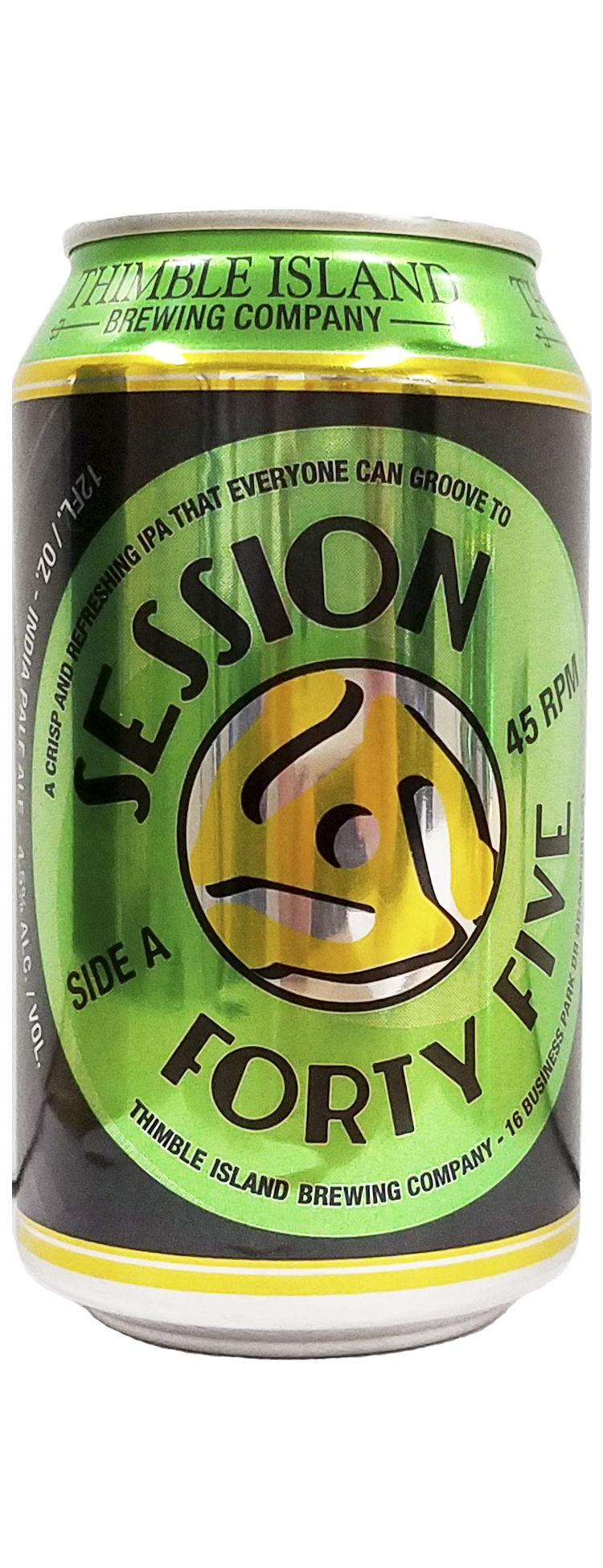 Thimble Island Brewing Company - Session Forty Five IPA