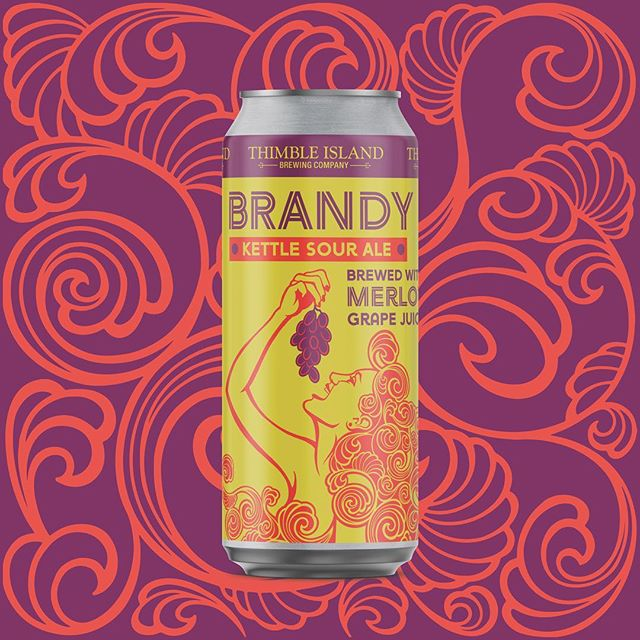 COMING SOON and Brewery Only! A Kettle Sour brewed w/ Merlot Grape Juice 🍇