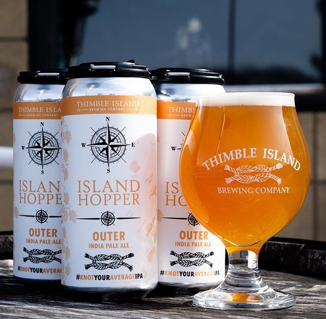 One of our favorite Island Hoppers is back! Outer is fresh on tap and in cans at your local beer store! 🍺