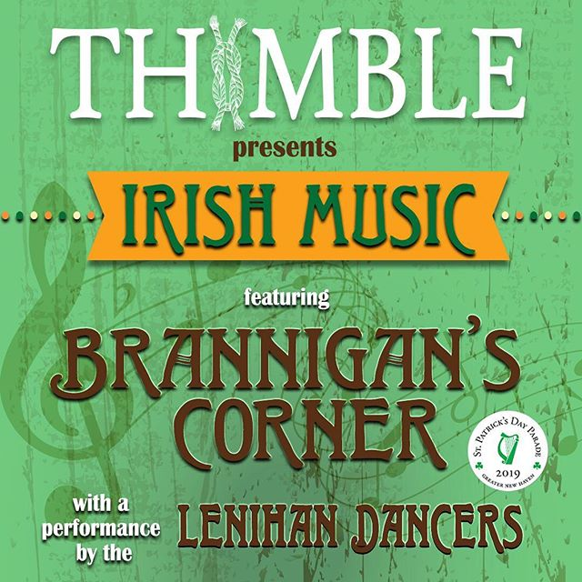 This Friday, 3/1 - Join us to kickoff St. Patrick's Day Season with live music from Brannigan's Corner, Lenihan Dancers, and food from JJ's Food Truck. Admission is free and beer will be flowin'! - $10 Parade Donation Appreciated  Lenihan Dancers @ 7:45pm JJ's Food Truck will be on site for some grub!