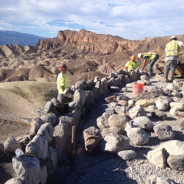 Rock Wall Install (2).JPG