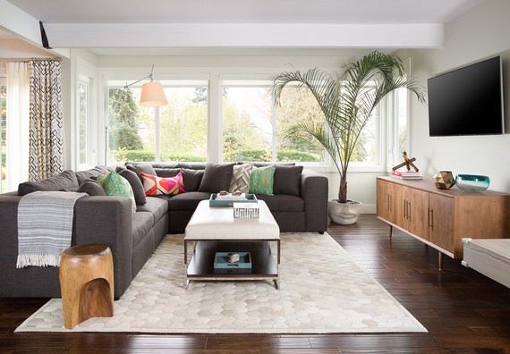 One Of The Newest And Most Prominent Projects For Pulp Design Studios Was  The Redesign Of A Seattle Area Homeu0027s U0027great Room,u0027 Which Is A Combined  Living And ...