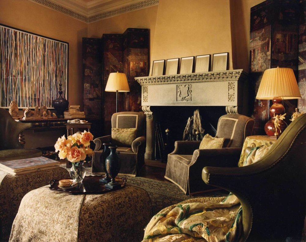 The Wiseman Group, Living Room at the 1997 San Francisco Decorator Showcase