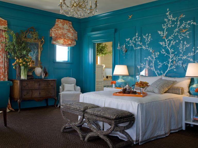 Kendall Wilkinson Design, Master Suite at the 2007 San Francisco Decorator Showcase