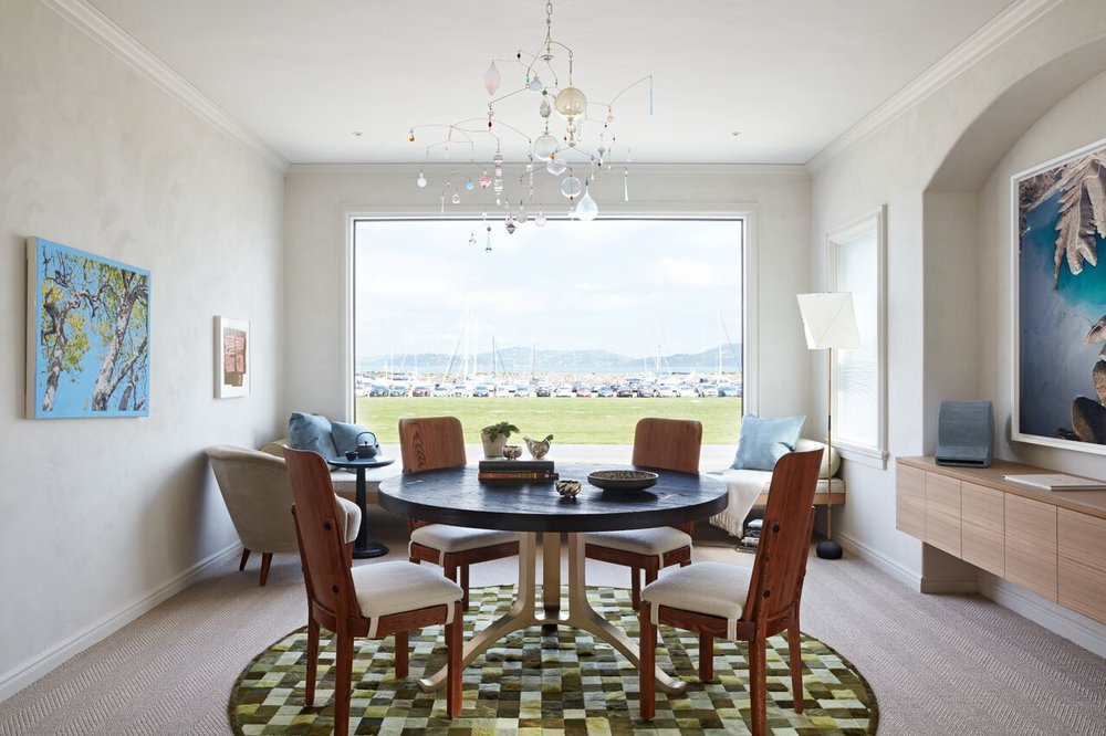 Bjørn Design, Dining Room at the 2018 San Francisco Decorator Showcase