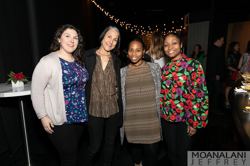 Amanda Edwards, Kathy Bloodworth, Iyohna Pendleton, Kiara Thompson