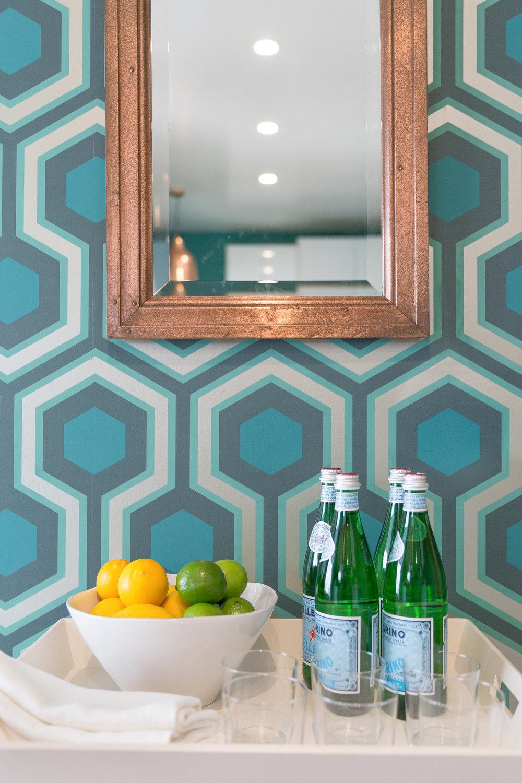 Coddington Design  Kitchen Vignette by  Lauren Edith Andersen  Photography