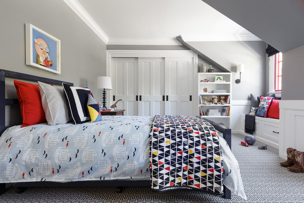 Ann Lowengart Interiors  Kid's Bedroom  David Duncan Livingston