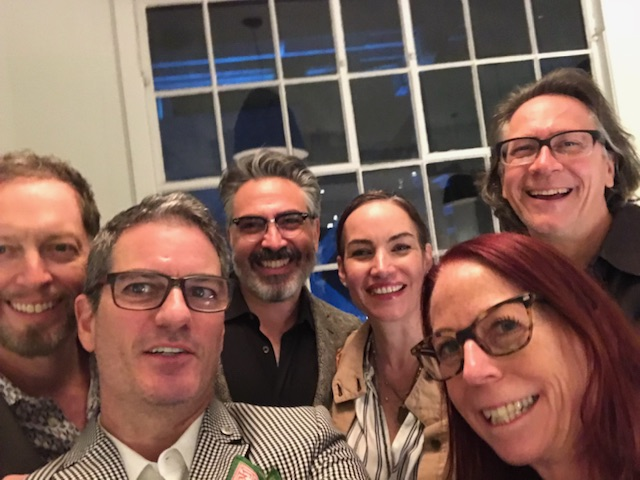 From left to right: John K. Anderson, Joseph Kowalski, Jimmy Kansau, Krista Coupar, Debbie Gray, Dane Robert Wilson