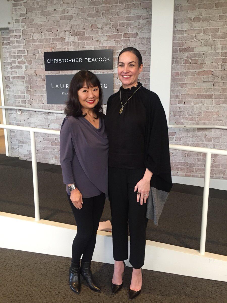 Rhonda Hirata and Krista Coupar