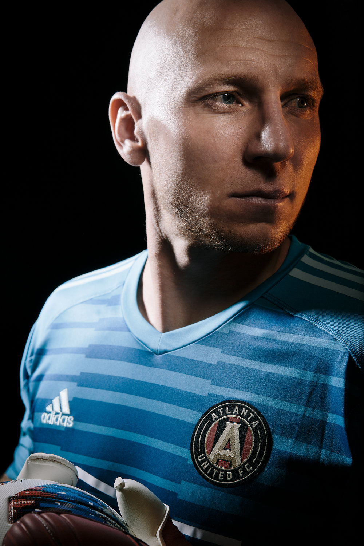 Atlanta united portraits - shot for ATL United