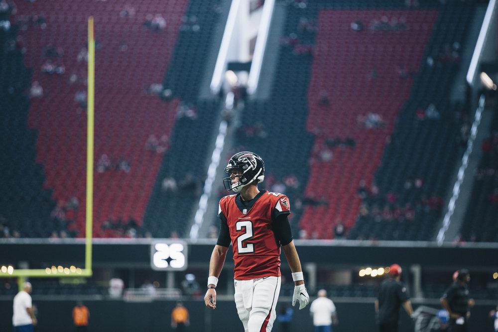 Atlanta Falcons - shot for NFL