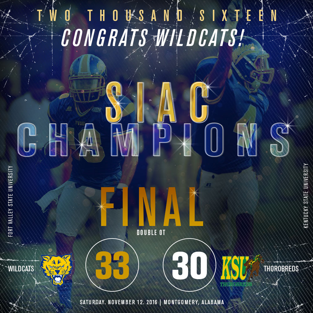 2016 SIAC Champions