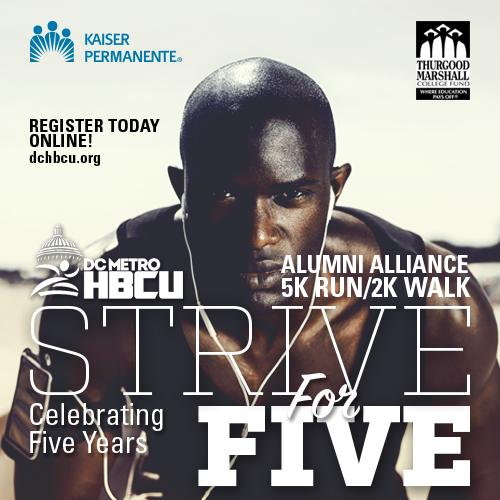 DC Metro HBCU Alumni Alliance 5K