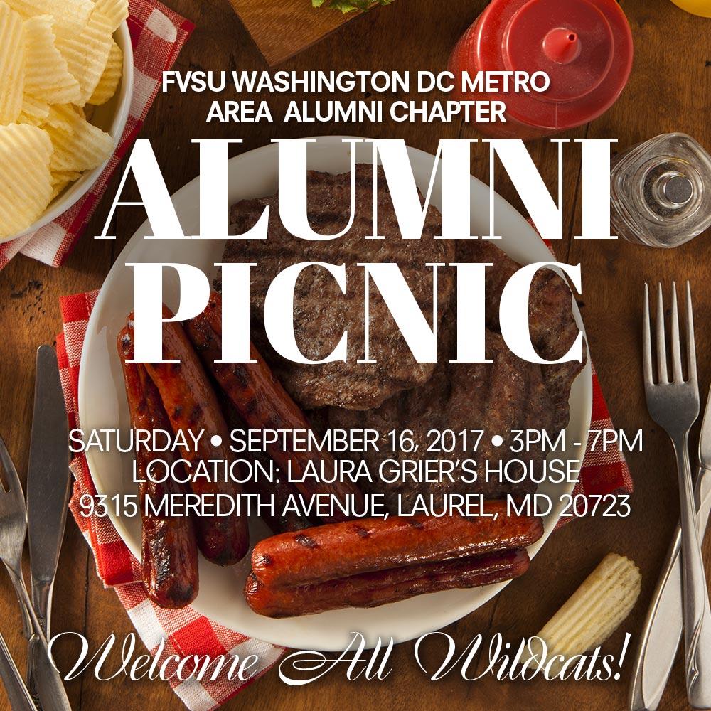 FVSU DC Chapter Alumni Picnic