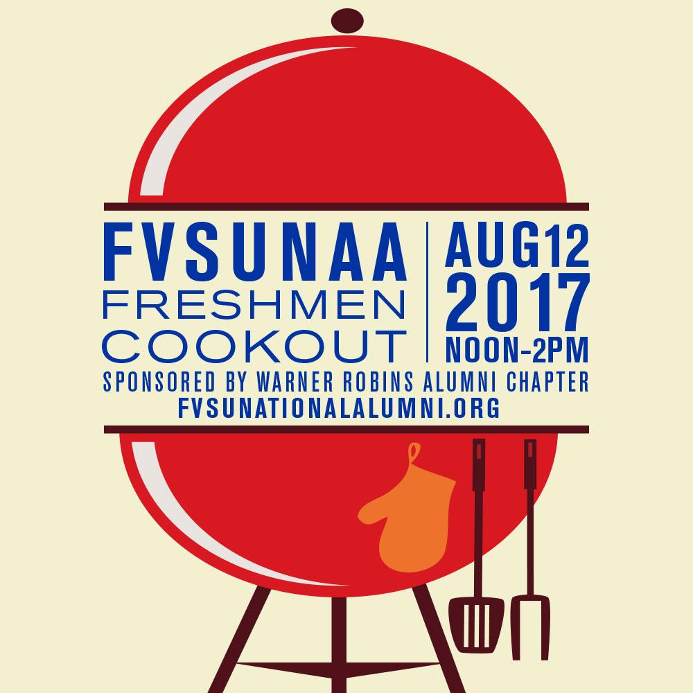 FVSUNAA Freshmen Cookout 2017