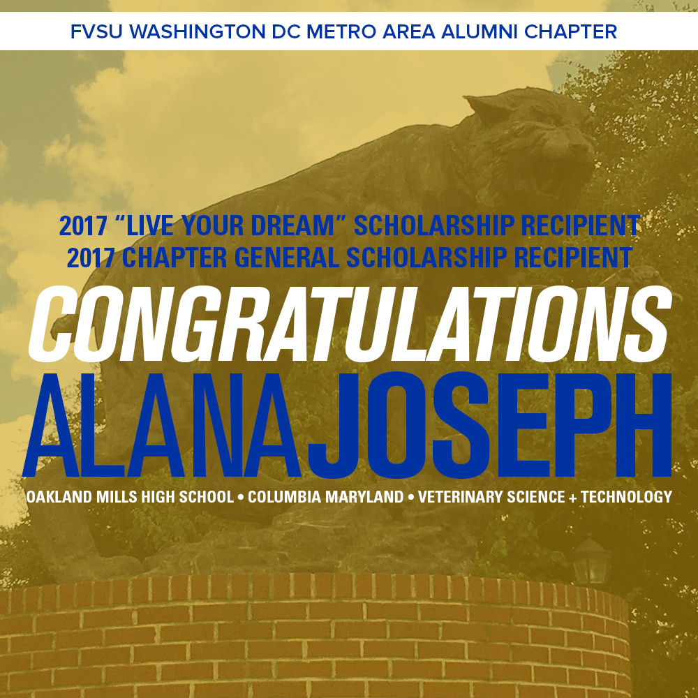 FVSU DC Scholarship Recipient