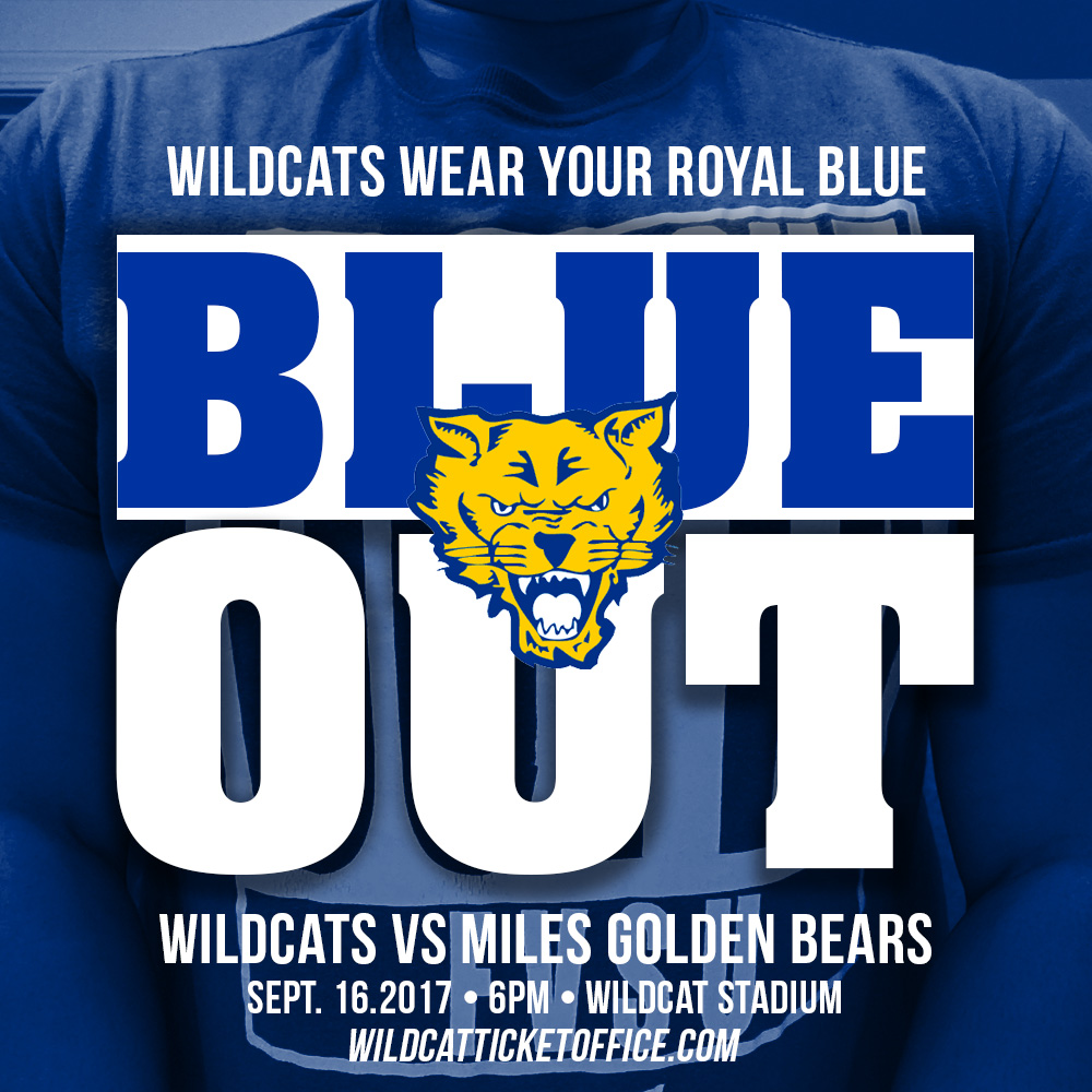 FVSU DC Blue Out
