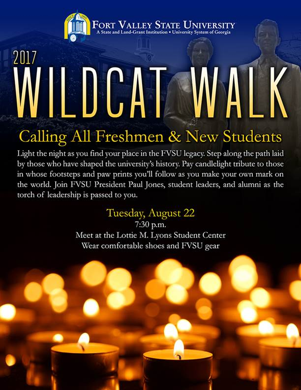FVSU Wildcat Walk