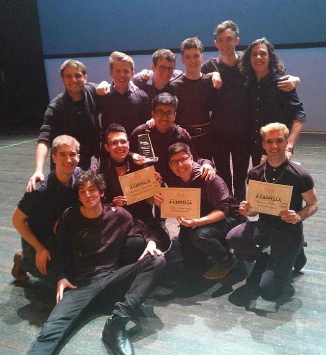 We are in AWE. We're so grateful to be the ICCA Central Region CHAMPIONS! We can't wait for FINALS! NYC HERE WE COME!