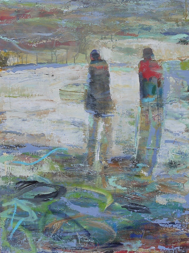 "good-byes are hard  30"" x 40"" sold"