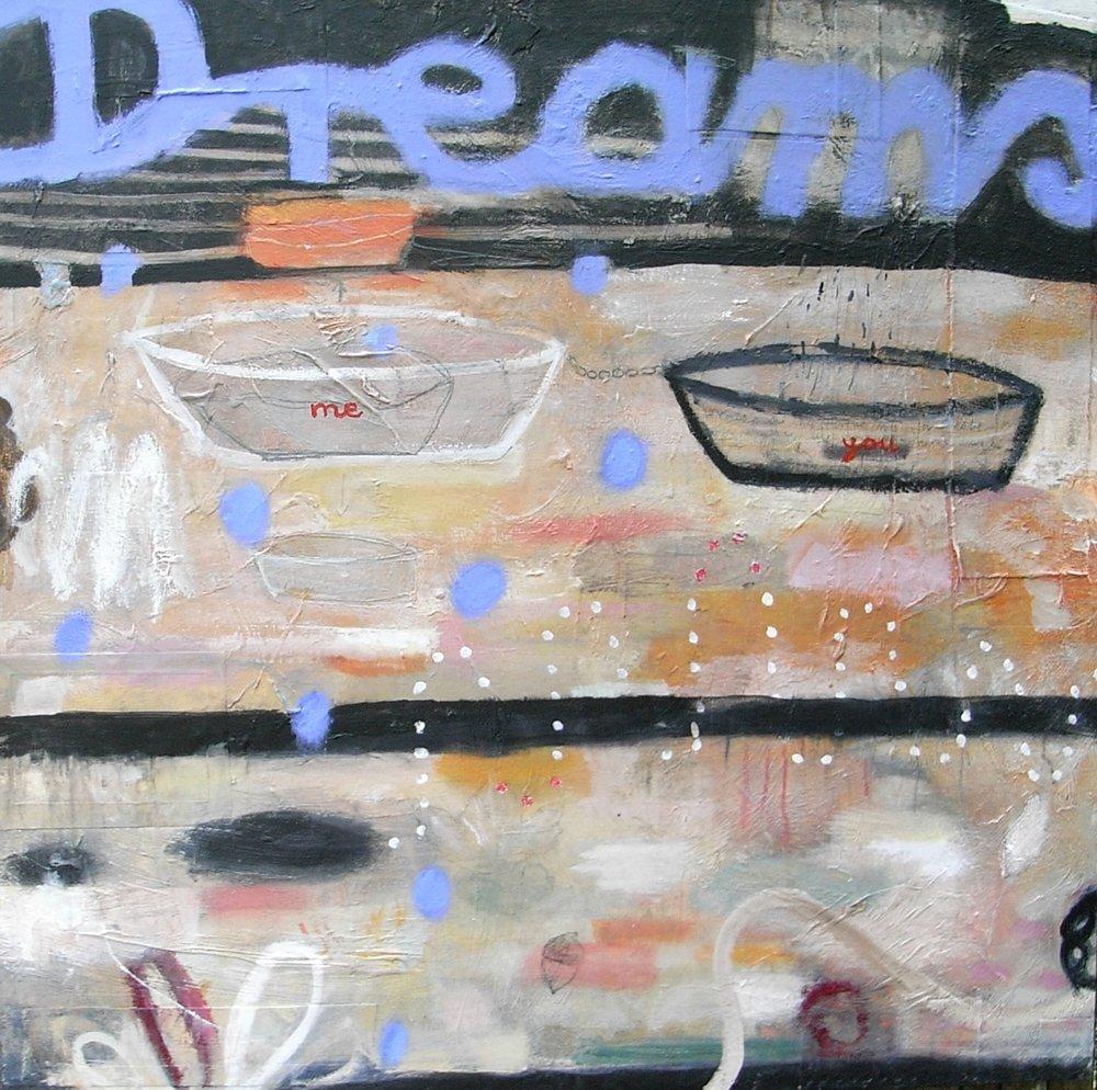 """36"""" x 36""""  Dreams"""