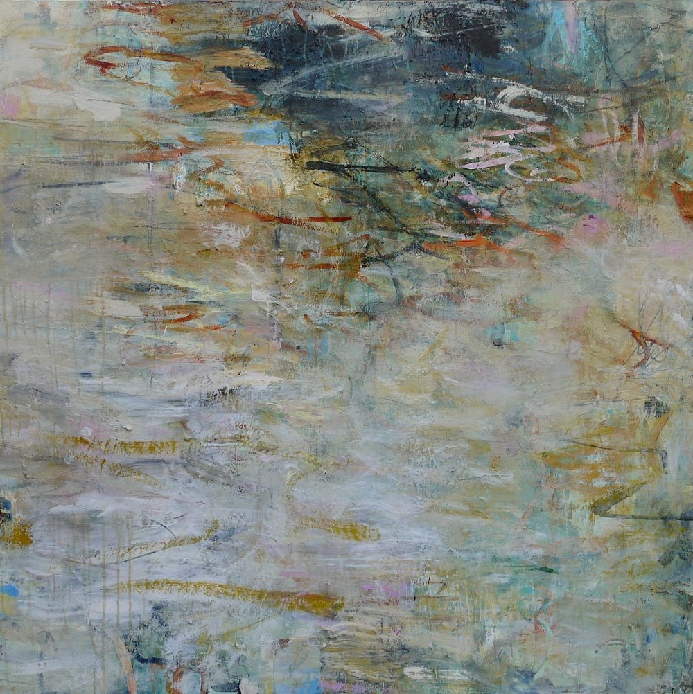 """As seen in the water 48"""" x 48"""""""